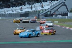 Start race 1 Nürburgring. Foto: Wim Heuving
